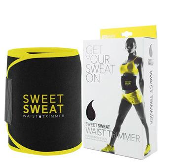 跨境彩色可调节健身腰带吸汗透气运动爆汗腰带塑身燃脂保暖束腰带