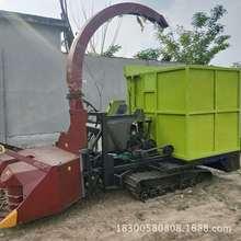 干湿秸秆粉碎机 青储机拖拉机带动的玉米秸秆粉碎收集机