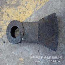 定制 环锤式金属破碎机配件 合金锻造锤头 双金属复合锤头
