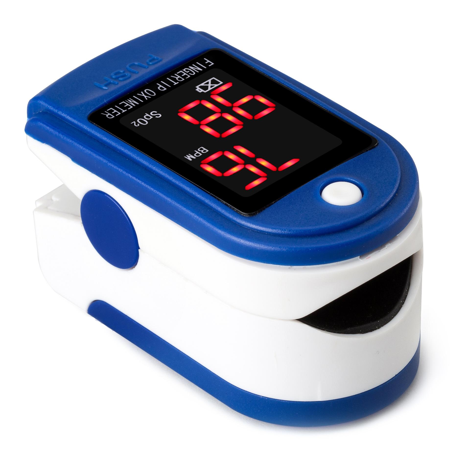 JZIKI手指夹式脉搏血氧仪 厂家直销电子血氧仪外贸出口爆款