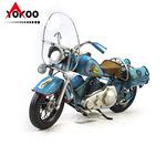 復古鐵皮摩托車模型,仿古摩托車模型,服裝店裝飾道具