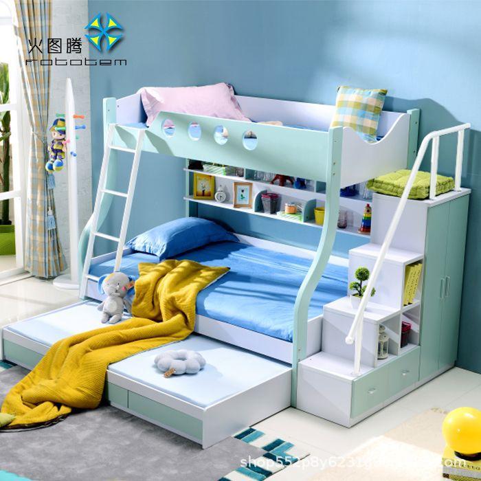 廠價直銷兒童子母床上下床學生雙層床大人高低床高箱公寓床午托床