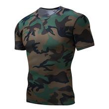 代理加盟 男士T恤 男士健身衣 緊身衣 運動服廠家一件代發