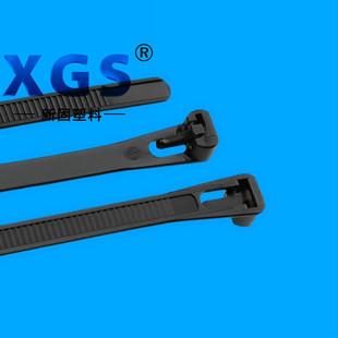 厂家批发尼龙扎带 活结扎带 8x250数目100条 可松式扎带