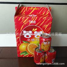 韩国进口海太牌 饮料饮品 海太果汁饮料 72×238ml/含果粒