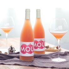 慕拉低度果酒桃子酒桃紅葡萄酒甜型甜紅酒適合少女生喝的甜酒批發