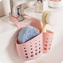 【包邮】 厨房水槽沥水架子挂篮置物架海绵收纳挂袋水龙头挂架