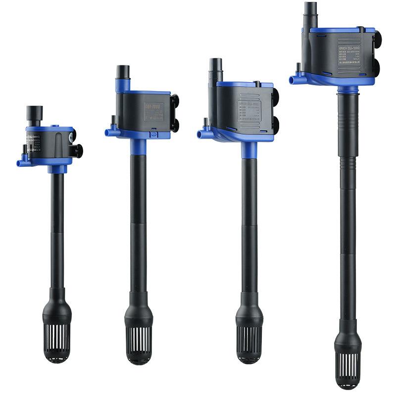 森森三合一CQJ水族箱潜水泵鱼缸水泵过滤泵抽水泵微型水泵增氧