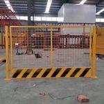 施工临时围挡工地基坑临边防护栏喷漆钢丝安全隔离围栏建筑护栏网