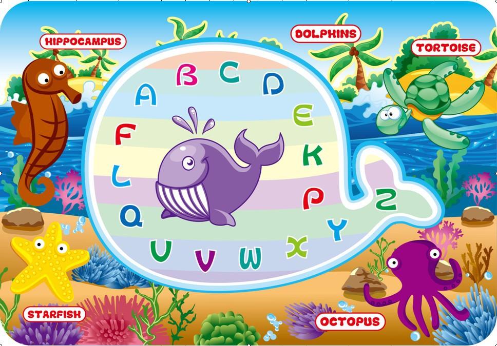 四年级动物水画