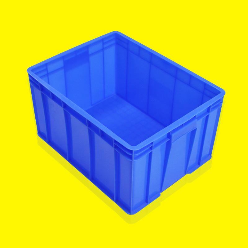 加厚塑料物流周转箱大号储物收纳整理箱车间服装胶框中转箱塑料箱
