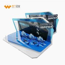 唯今定制 亚克力展示架 台式发光展示架 有机玻璃 高档陈列架