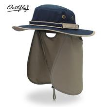 夏季户外防紫外线帽子女士护颈圆边帽子遮阳帽夏季旅游帽子批发