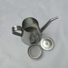 厂销润滑油三级过滤长嘴不锈钢加油壶.桶.漏斗油抽子接油盘工具柜