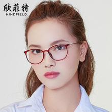 新款平光镜女超轻复古镜架配镜专用眼镜框男女士通用眼镜批发872