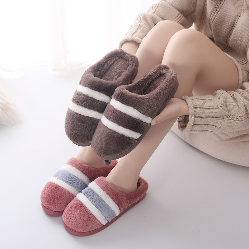 Cotton of sweethearts of winter of slipper of cotton of sweethearts of home of house of Qiu Dongxin