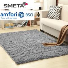 跨境廠家批發地毯現代絲毛地毯客廳茶幾沙發床邊地毯臥室地毯地墊
