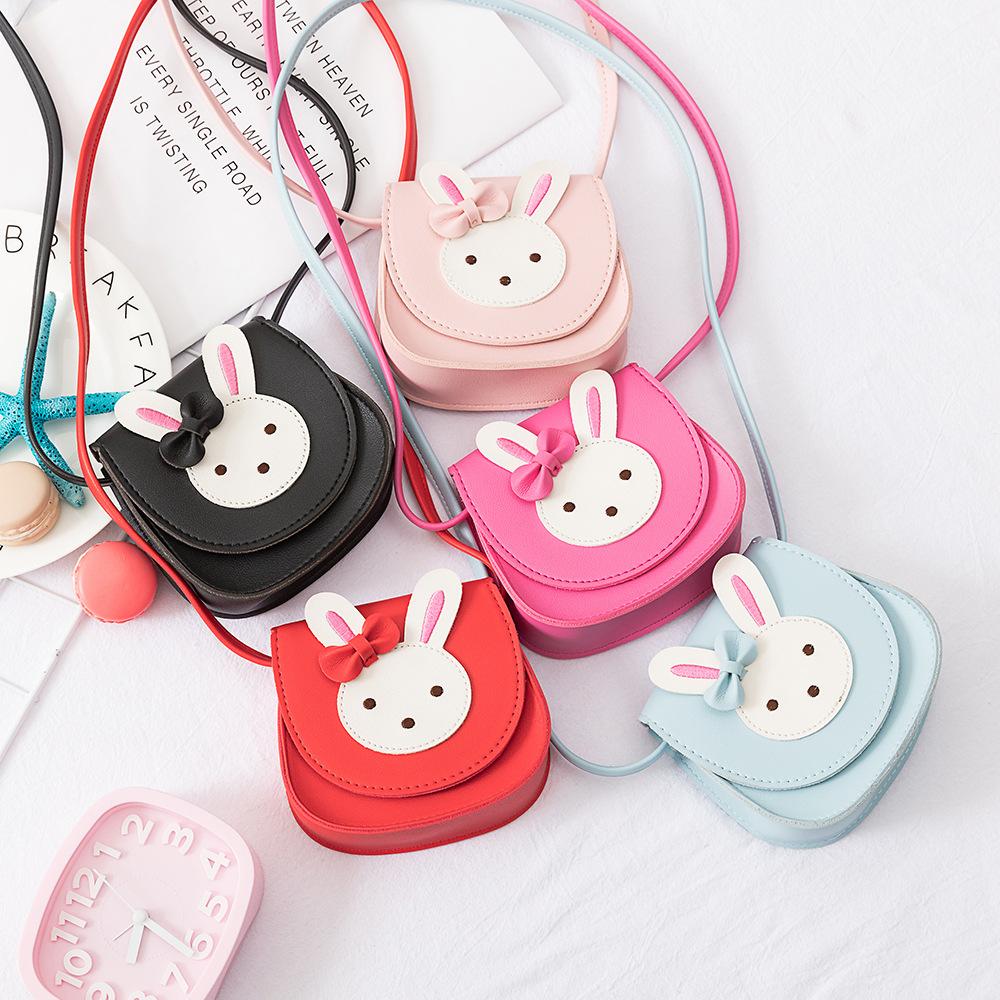 韩版卡通儿童女包 时尚公主斜挎包 幼儿园可爱萌兔单肩斜挎包女