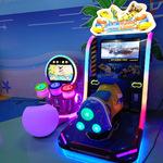 厂家直销电玩城游戏设备模拟成人娱乐动感赛车极速飞艇游艺机游乐