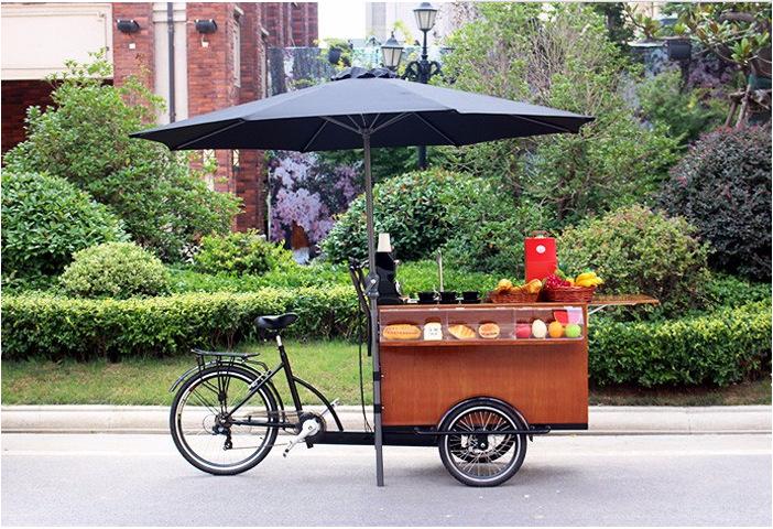 廠家直銷 倒騎三輪車 腳蹬貨物餐車 倒騎貨廂車 人力腳踏車