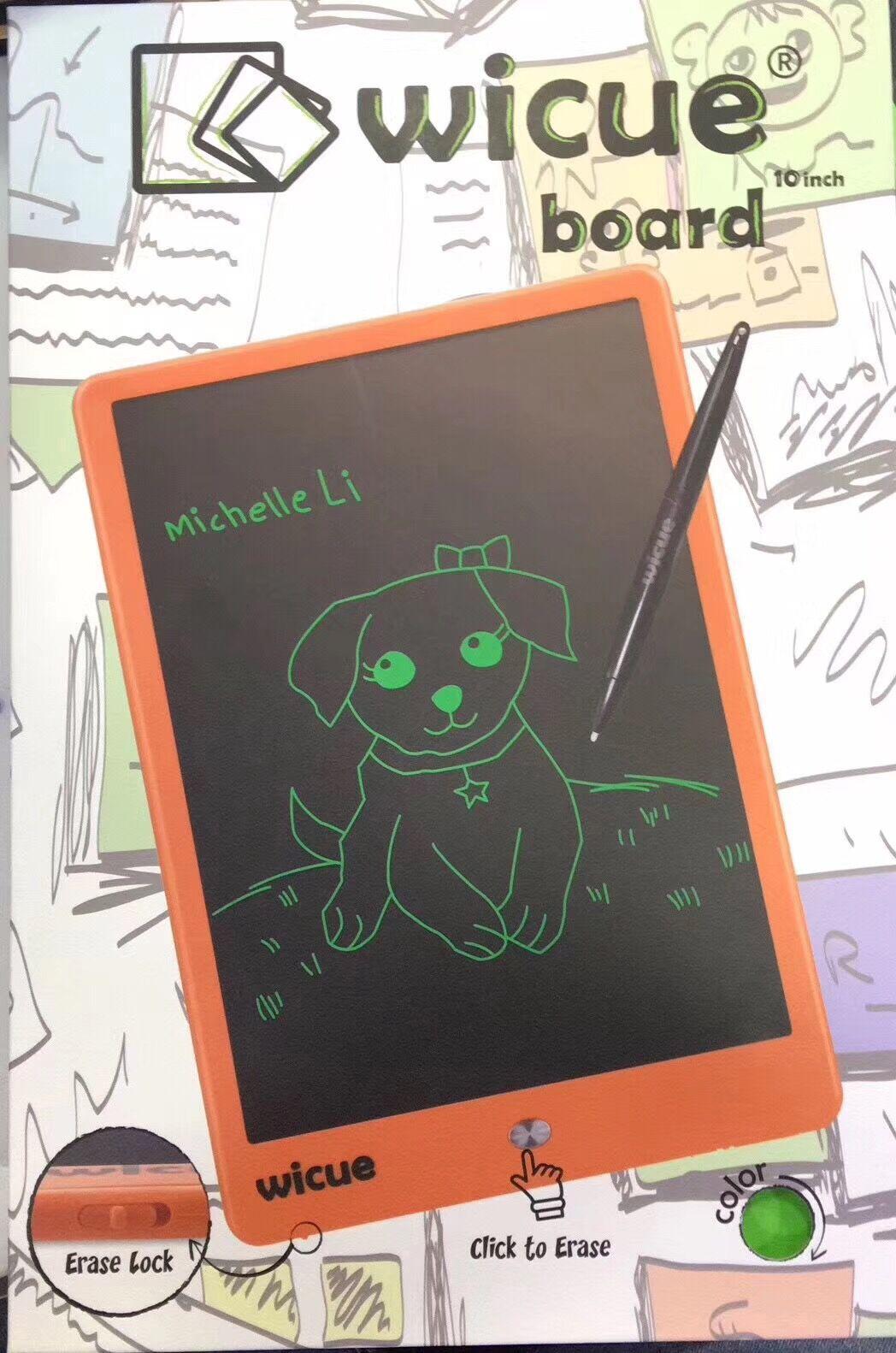 创意儿童手写字板手绘图画画屏板电子光能液晶涂鸦小黑板彩色12寸