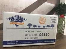 美国进口蓝钻扁桃仁片 糕点零食巴旦木片 扁桃仁片烘焙坚果原料