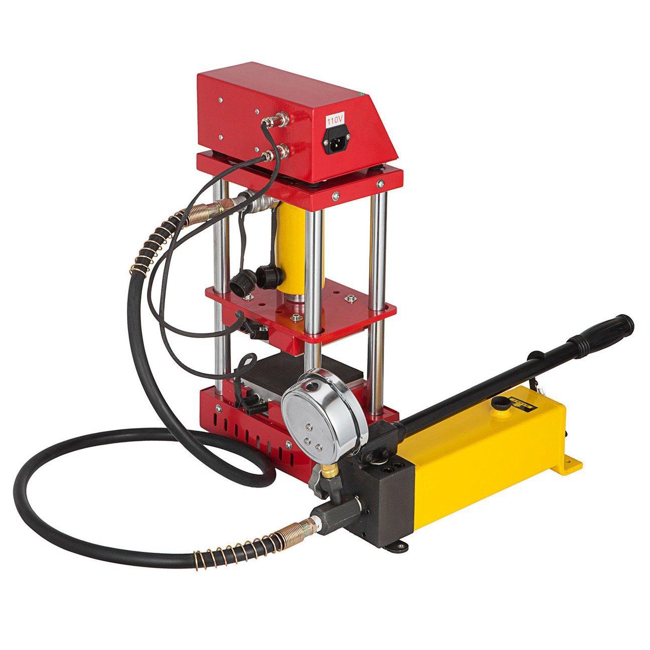 手动液压松香机AR1701热转印小型12x12CM烫画机压榨萃取设备