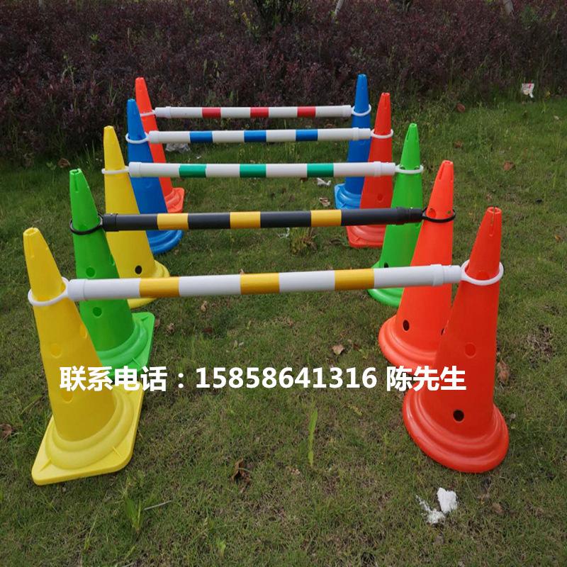 伸缩连接杆固定警示连杆路锥连接杆2米优质反光链杆标志桶路锥pvc