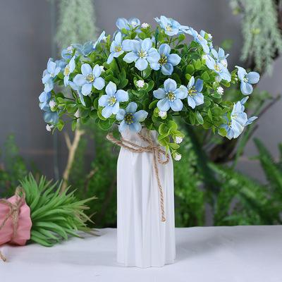 客厅摆设 假花仿真花束装饰花防真干花餐桌摆花插花塑料花艺盆栽