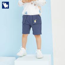 男童夏季新款五分裤宝宝短裤韩版中裤男宝宝?#34892;?#31461;休闲裤一件代发