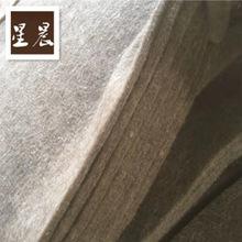 加工定制针刺大棚防寒保温毡杂毛毛毡毯 公路保温毛毡驼色羊毛毡
