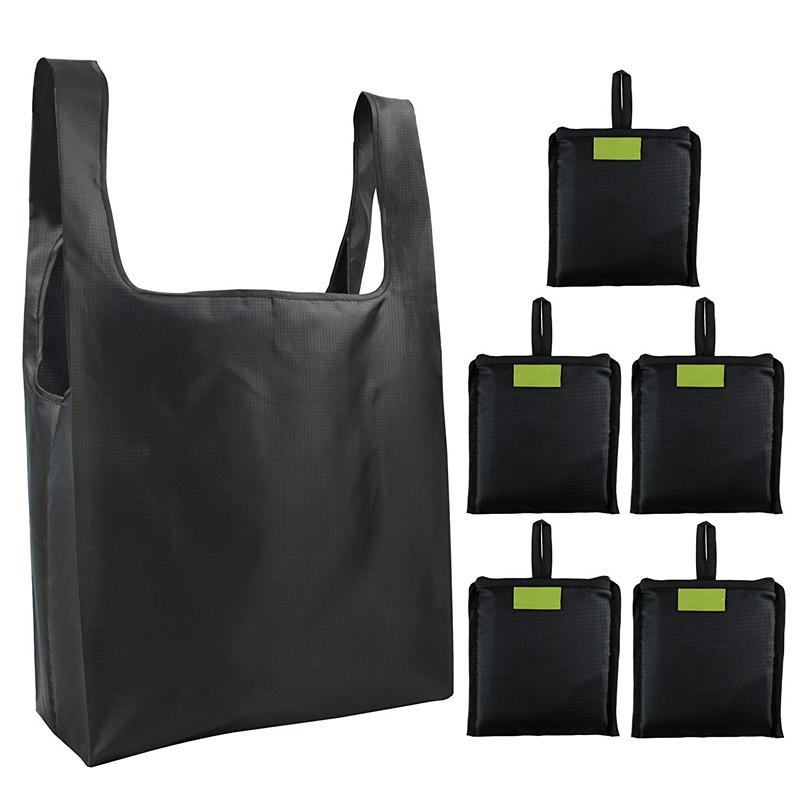 折叠便携购物袋可重?#35789;?#29992;环保袋子防水收纳牛津布袋可印LOGO印字