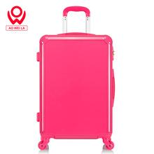 20寸24寸粉红色拉杆箱万向轮旅行箱糖果色行李箱子密码登机皮箱女