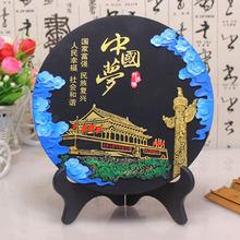活性炭雕工藝品辦公桌擺件節日禮物單位紀念品十六字我的夢中國夢
