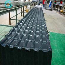 佛山厂家直销新型ASA合成树脂瓦现货防腐耐用琉璃瓦别墅隔热瓦