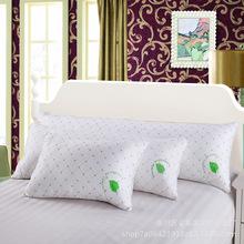 厂家直销全棉长方形羽丝保健枕芯正方形抱枕蚕丝枕头双人单人批发