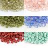 批發捷克進口13×11mm彩色系列楓葉玻璃珠捷克珠串珠配件飾品材料