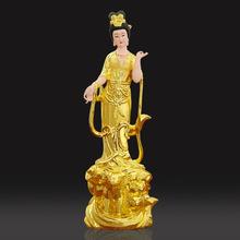 狐仙娘娘神像招財保家仙擺件寺廟供奉樹脂玻璃鋼佛像九尾靈狐