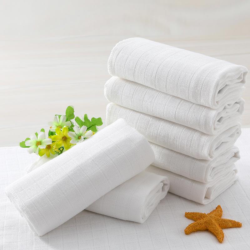 厂家直销新生儿纯棉?#21672;?#23615;布可高温水洗方格儿童尿布宝宝多用布