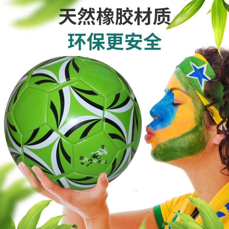 厂家促销发泡5号足球 PVC发泡防爆5号足球 中小学生校园训练足球
