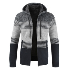 Men warm cashmere Hooded Jacket for man Thermal co