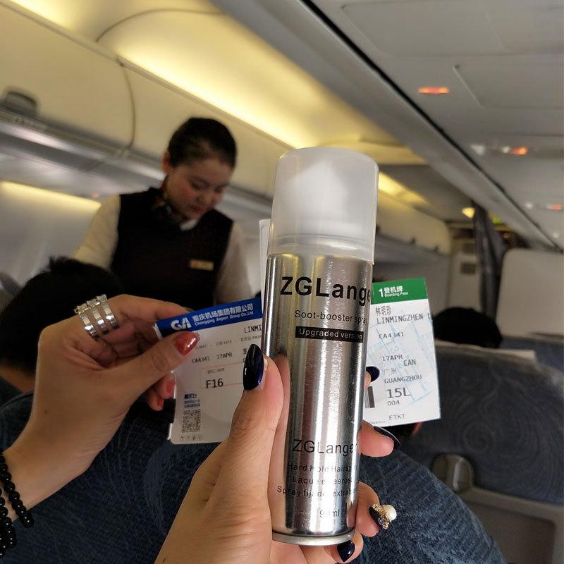 上定型过安检迷你小瓶发胶男女士头发造型飞机喷雾旅行装干胶99ml