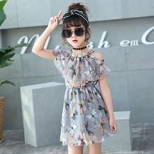 儿童装小孩女孩穿的6公主裙子8女童9衣服7连衣裙夏装夏天4-10岁。