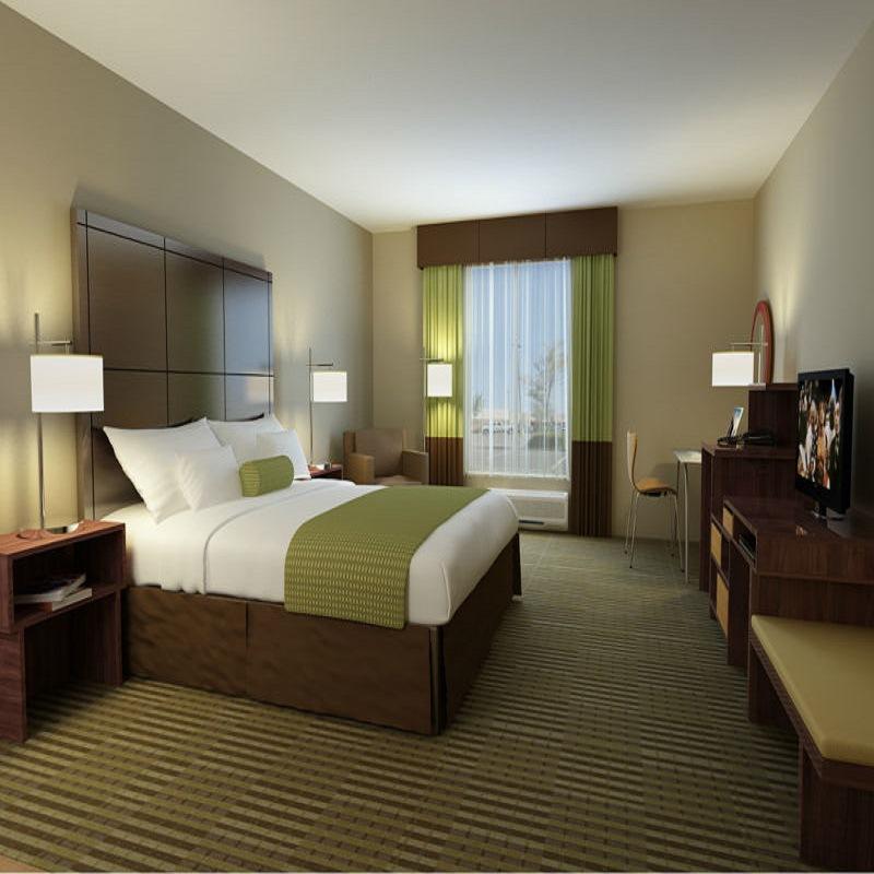 厂家直销出口品质E0级环保板材精品酒店宾馆公寓客房家具成套定制