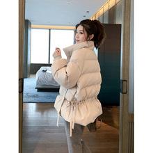 冬季百搭2019新款东大门保暖加厚棉服女韩版宽松棉衣面包服外套