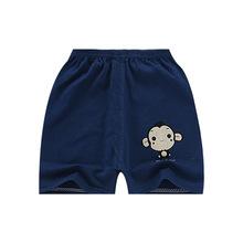 夏季新款韩版儿童纯棉单件外穿短裤婴儿薄款中小男女童可开裆童裤
