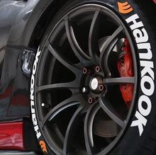 【常规材料】汽车轮胎字母贴3D立体英文字母轮胎贴纸轮毂个性改装
