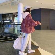 大碼女裝2019春裝新款微胖女裝減齡洋氣胖妹妹毛衣顯瘦網紅兩件套