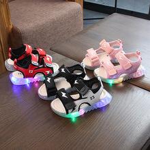 男童涼鞋兒童沙灘鞋女童韓版沙灘鞋2020夏季新款1-6歲3寶寶學步鞋