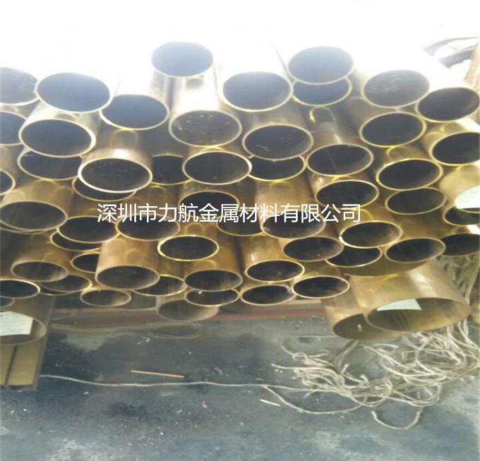 东莞黄铜毛细管厂家 H65黄铜椭圆管 H62黄铜方管加工 白铜管